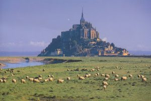 Island of Mount St Michel, Southern part of Normandy
